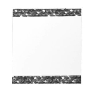 Falln Black and White Scales Notepad