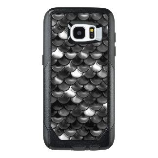 Falln Black and White Scales OtterBox Samsung Galaxy S7 Edge Case