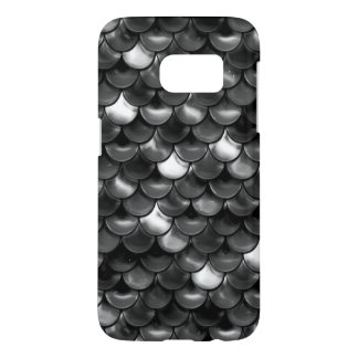 Falln Black and White Scales Samsung Galaxy S7 Case