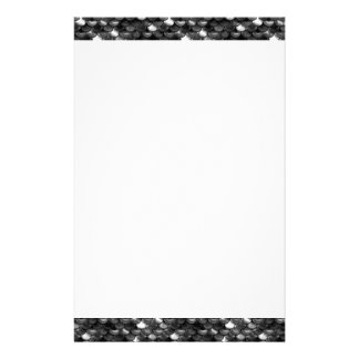 Falln Black and White Scales Stationery