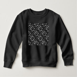 Falln Black and White Scales Sweatshirt