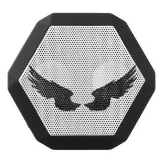 Falln Black Angel Wings Black Bluetooth Speaker