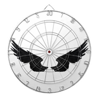 Falln Black Angel Wings Dart Boards