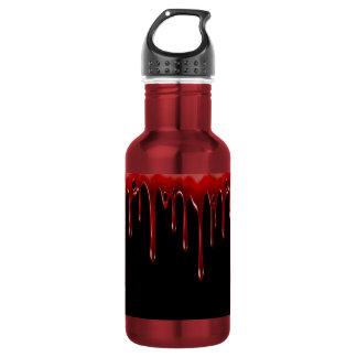 Falln Blood Drips Black 532 Ml Water Bottle
