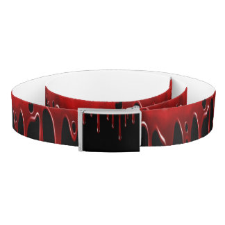 Falln Blood Drips Black Belt