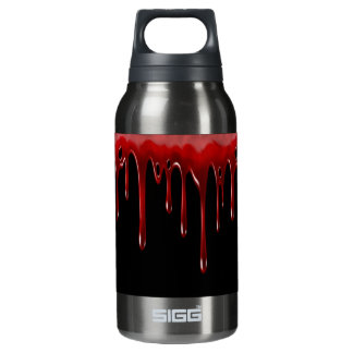 Falln Blood Drips Black Insulated Water Bottle