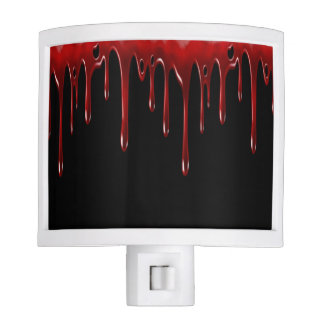 Falln Blood Drips Black Nite Lights