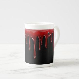 Falln Blood Drips Black Tea Cup