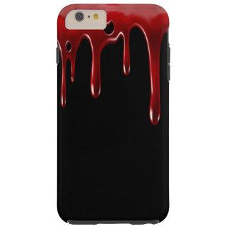 Falln Blood Drips Black Tough iPhone 6 Plus Case
