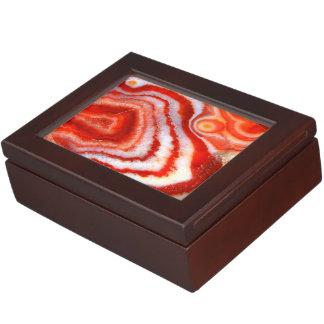 Falln Blood Orange Agate. Memory Boxes