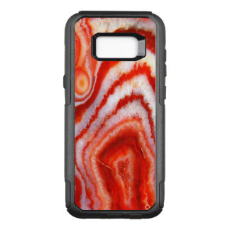 Falln Blood Orange Agate OtterBox Commuter Samsung Galaxy S8+ Case