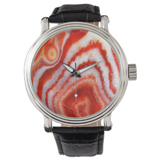 Falln Blood Orange Agate. Watch