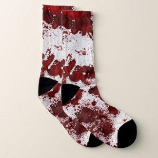 Falln Blood Splatter Socks