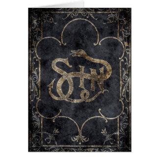 Falln Book of Sin Card