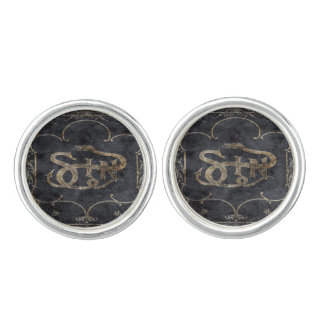 Falln Book of Sin Cufflinks