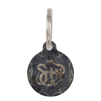 Falln Book of Sin Pet ID Tag