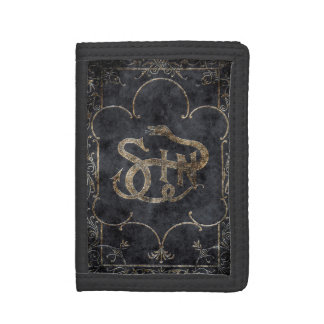 Falln Book of Sin Trifold Wallet