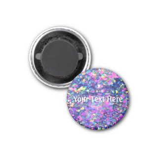 Falln Bubble Crystals 1 Inch Round Magnet