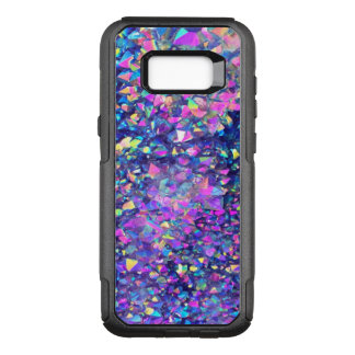 Falln Bubble Crystals OtterBox Commuter Samsung Galaxy S8+ Case