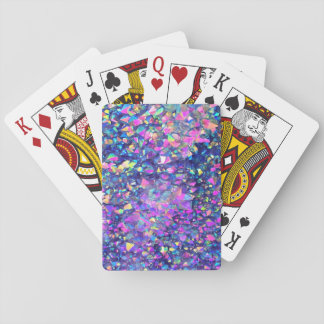 Falln Bubble Crystals Playing Cards