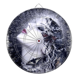 Falln Butterfly Dartboard With Darts
