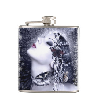 Falln Butterfly Hip Flask