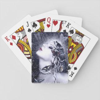 Falln Butterfly Poker Deck