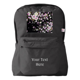 Falln Cascading Pink Flowers Backpack