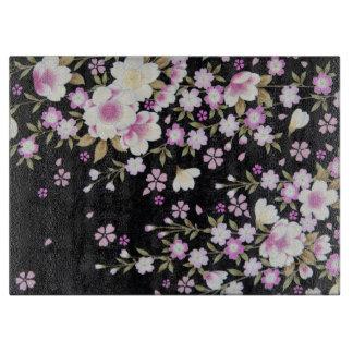 Falln Cascading Pink Flowers Boards