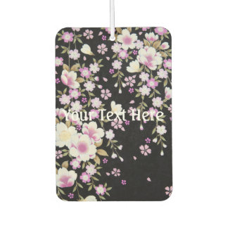 Falln Cascading Pink Flowers Car Air Freshener