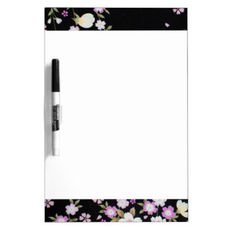 Falln Cascading Pink Flowers Dry-Erase Boards