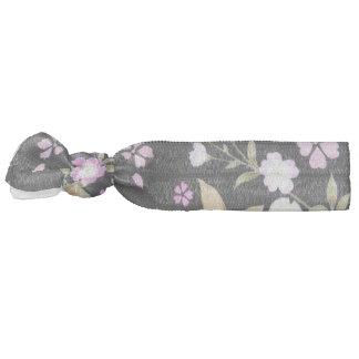 Falln Cascading Pink Flowers Hair Tie