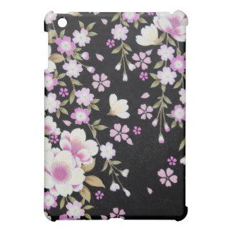 Falln Cascading Pink Flowers iPad Mini Cover