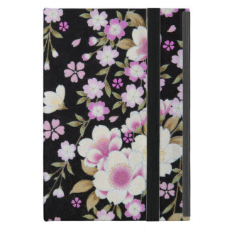 Falln Cascading Pink Flowers iPad Mini Cover