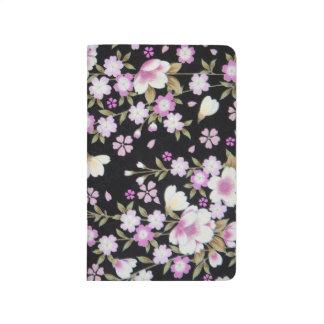 Falln Cascading Pink Flowers Journal