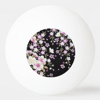 Falln Cascading Pink Flowers Ping Pong Ball