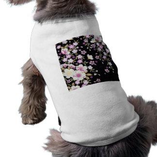 Falln Cascading Pink Flowers Shirt