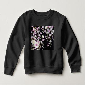 Falln Cascading Pink Flowers Sweatshirt
