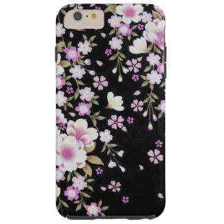 Falln Cascading Pink Flowers Tough iPhone 6 Plus Case