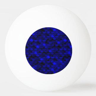 Falln Dark Blue Mermaid Scales Ping-Pong Ball