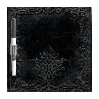 Falln Dark Tribal Dry Erase White Board