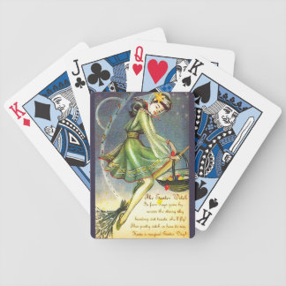 Falln Easter Witch Bicycle Playing Cards