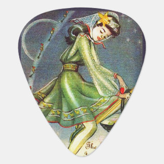 Falln Easter Witch Guitar Pick