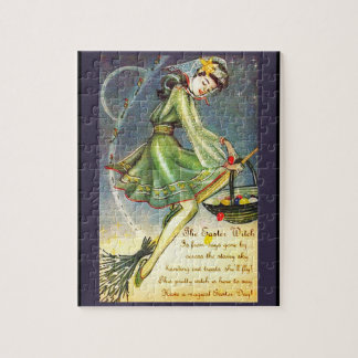 Falln Easter Witch Jigsaw Puzzle
