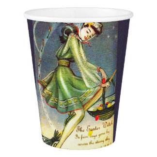 Falln Easter Witch Paper Cup