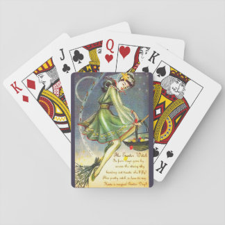 Falln Easter Witch Playing Cards