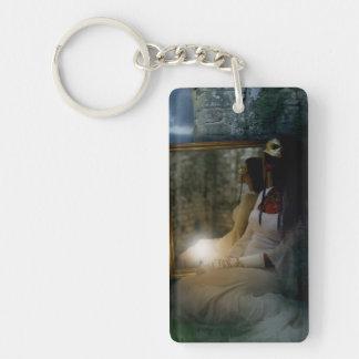 Falln Eternal Vanity Double-Sided Rectangular Acrylic Keychain