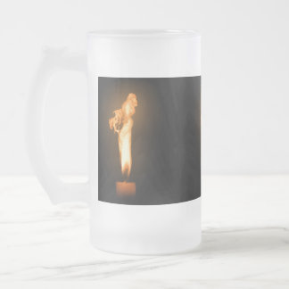 Falln Fire Frosted Glass Beer Mug