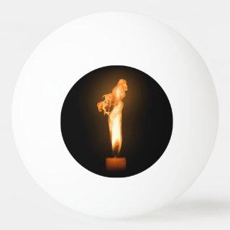 Falln Fire Ping-Pong Ball