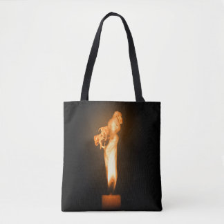 Falln Fire Tote Bag